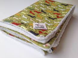 Dog Sofa Blanket Doxie Dachshund Blanket Weenie Dog Bedding Pet Throw Shearling