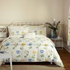 blue ticking stripe bedding darcy sky at bedeck 1951 fable in