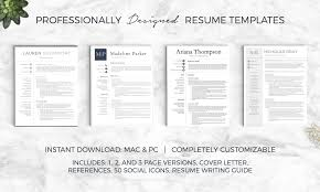 Best Resume Template App by Resume Writer For Mac