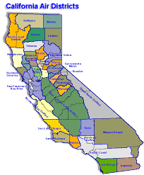california map map california map for local air district websites