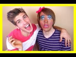 Challenge Shane My Boyfriend Does My Makeup Challenge Here Lies