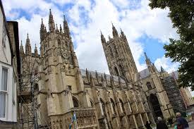 between sabbatical art pilgrimage canterbury cathedral