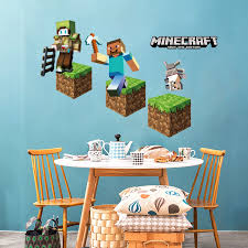 Minecraft Bedroom Decals by Online Shop Minecraft Wall Sticker For Kids Room Color Tools Game