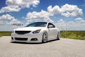 Nissan Altima Coupe 2010 - bagged nissan altima coupe on velgen wheels vmb5 clublexus