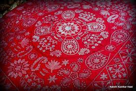 nakshi kantha nakshi wall mat of bangladesh
