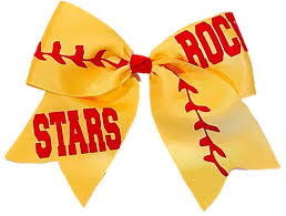 softball hair bows softball hair bows
