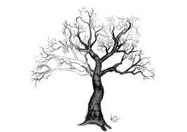 tree in winter by black2337 on deviantart