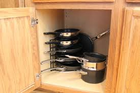 kitchen storage ideas for pots and pans kitchen pan storage ideas spurinteractive