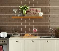 Brick Tile Backsplash Kitchen Amazing Brick Kitchen Tiles Ideas Home Decorating Ideas With