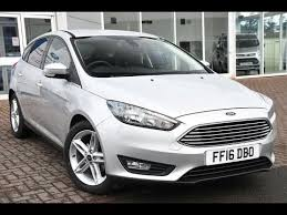 used ford focus tdci used ford focus 1 5 tdci zetec 5dr moondust silver 2016