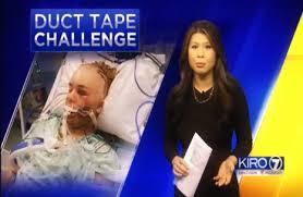 Challenge Kills Someone Trending Stupidity Kid Almost Kills Self Taking The Duct
