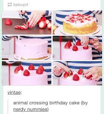animal crossing birthday cake recipe image inspiration of cake