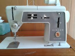 Singer Sewing Machine Cabinets by Vintage Singer 600 Sewing Machine In Wood Desk Cabinet