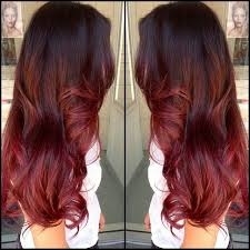 5 red highlights that will impress your friends hairstyles
