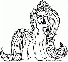 coloring page pony my pony coloring pages princess celestia in a dress part