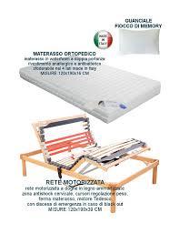 peso materasso offerta rete elettrica motorizzata a doghe con materasso 120x190