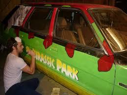 jurassic park car toy jurassic park car magnets image mag