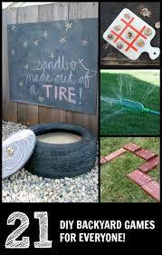 Outdoor Backyard Games 21 Diy Lawn Games C R A F T
