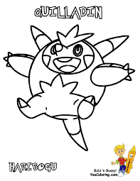 spectacular pokemon x and y chespin swirlix free coloring kids