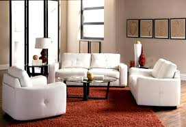 Floor Lamp Living Room Living Room Simple Modern Living Room With White Sofa Set And Red