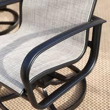 belham living winston savoy sling swivel tilt chat chair hayneedle
