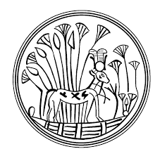 imagenes egipcias para imprimir mandalas para pintar la diosa hathor representada como ternera egipto