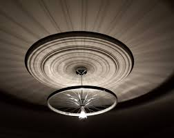 Used Ceiling Lights Bicycle Wheel Used As Lighting Fixture 8 Ways To Use Recycled