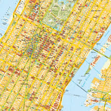Nyc Subway Map With Street Overlay by New York City Map Manhattan At Map Of Ny City Streets Thefoodtourist