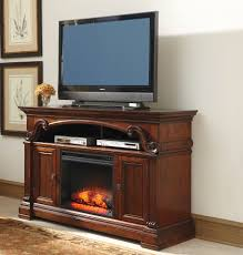 alymere tv stand with fireplace
