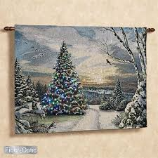 alan giana morning ii lighted tapestry