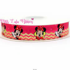 happy s day mouse 6 75mm happy s day mouse printed ribbon