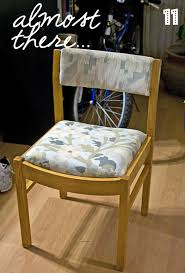 Reupholster Armchair Tutorial How To Reupholster A Chair Step By Step Photo Tutorial