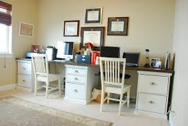 Dual Desk Home Office Office U2013 Tell U0027er All About It
