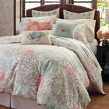 Coral Colored Comforters Bedroom Comforter Covers With Beautiful Coral Duvet Cover And