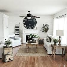 Best  Farmhouse Living Rooms Ideas On Pinterest Modern - Black and white family room