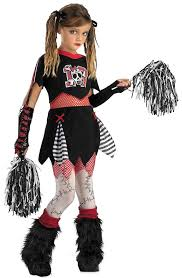 Girls Halloween Costumes Cheerleader Halloween Costumes Girls Kids Gothic