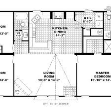 open layout house plans one story rectangular house plans on architectures design single