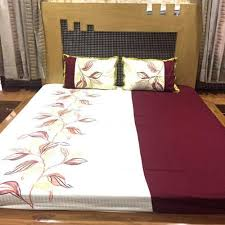 Her Side His Side Comforter Embroidered Bedsheets Manufacturer From Jaipur