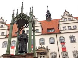 a quiet german town welcomes some 2 million visitors for martin