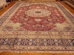 12x18 Area Rug Red 12x18 Silk Area Rug Persian Josheghan Design Traditional