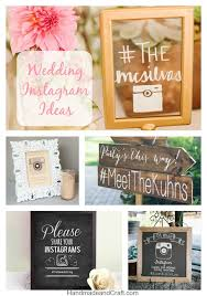 wedding instagram 5 diy wedding instagram ideas