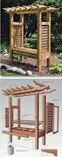 arbor swing plans 25 best outdoor furniture plans ideas on pinterest designer