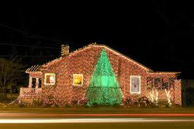 crazy christmas tree lights 15 crazy and over the top christmas decorated homes