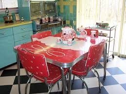 retro kitchen table and chairs set 23 red dinette sets vintage kitchen treasures retro renovation