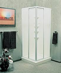 american shower and bath corner entry shower kit 5 16