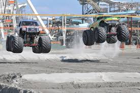 jersey shore events monsters beach truck races