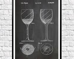 Wine Decor For Kitchen Wine Poster Etsy