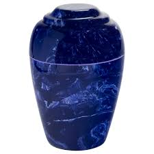 marble urns cobalt grecian cultured marble urn for ashes