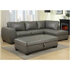 Sofa With Ottoman Chaise by Furniture Extraordinary Ideas Of Gray Sectional Sofa With Chaise