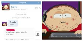 Chat Meme - travis the customer support guy customer support chat trolling